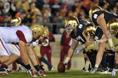 ACC Football 2012 Payback Games: Boston College vs. Notre Dame