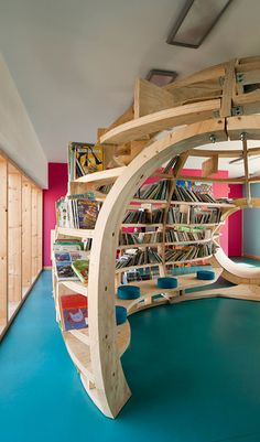 The design of an educational space is fundamental in encouraging a child's growth in learning, their creativity and imagination. In Matali Crasset's recent project, the french designer has revitalised and reorganised the blé en herbe school, located in the quaint village of Trébedan in Brittany. Check out more inspirational spaces here- https://www.furnware.co.nz/