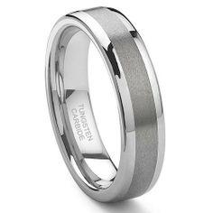 Tungsten Carbide Wedding Band Ring Size 4.0-15.5 Titanium Kay. $54.99