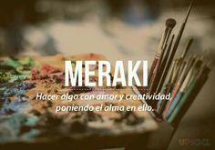 Poner el alma para crear #meraki #amor #creatividad