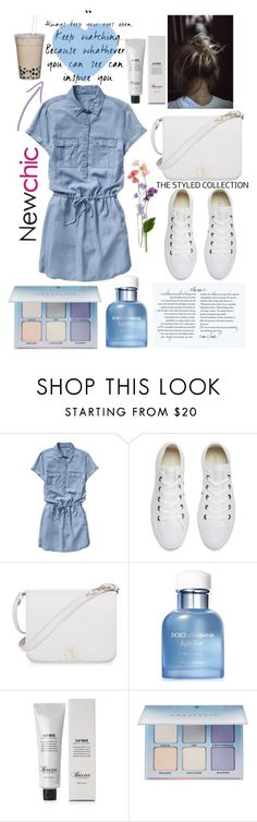 """""""street style"""" by dinka280316 ❤ liked on Polyvore featuring Gap, Converse, Furla, Dolce&Gabbana, Baxter of California, Anastasia Beverly Hills, StreetStyle, dinalv and dinka280316"""