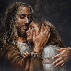 When you let everything go, Ill give you what I have for you. If you hold onto things, you put them above Me. Mary Magdalene And Jesus, Immaculée Conception, Jesus Artwork, Image Jesus, Mode Poster, Pictures Of Jesus Christ, Jesus Christus, Christian Artwork, Jesus Painting
