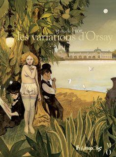 Les Variations d'Orsay | BoDoï, explorateur de bandes dessinées - Infos BD, comics, mangas