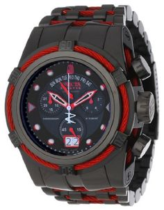 Jason Taylor for Invicta Collection 12950 BOLT Zeus Chronograph Black Dial Black Ion-Plated Stainless Steel Watch Invicta,http://www.amazon.com/dp/B00AR9HXEK/ref=cm_sw_r_pi_dp_FpCFrbF8F2844F95
