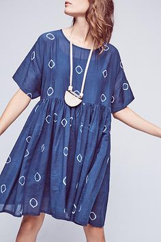 Montauk Tie-Dye Dress - anthropologie.com