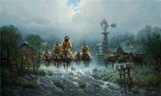 """""""Where Cowhands Don't Change"""" by G. Harvey"""