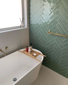 Redfern Terrazzo Look White Home Deco painted floor tiles bathroom Redfern Terrazzo White Green Bathroom, Bathroom Decor Luxury, Diy Bathroom Decor, Green Tile Bathroom, Bathroom Flooring, Green Tile, Bathroom Design, Bathroom Decor, Beautiful Bathrooms