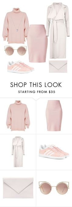 """Untitled #1169"" by dani-gracik ❤ liked on Polyvore featuring TIBI, Winser London, Boohoo, adidas Originals, Verali, MANGO and Links of London"