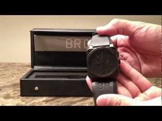 Bell & Ross BR03-94 Phantom Chronograph Watch Review Authentic - YouTube