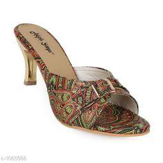 Heels & Sandals Trendy Fancy Women Heel Sandal  *Material* Synthetic  *IND Size* IND -3 , IND - 4 , IND - 5, IND - 6, IND - 7, IND - 8, IND - 9  *Description* It Has 1 Pair Of Women's Heel Sandal  *Sizes Available* IND-8, IND-9, IND-10, IND-2, IND-3, IND-4, IND-5, IND-6, IND-7 *   Catalog Rating: ★4.2 (275)  Catalog Name: Designer Womens Heel Sandals Vol 1 CatalogID_130134 C75-SC1062 Code: 272-1065088-