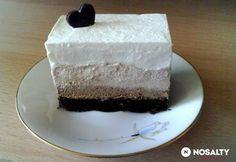 Réteges csokoládés desszert