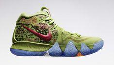 ed10a400240b Nike Kyrie 4 Confetti Side Team Usa Basketball