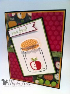 Perfectly Preserved Apple by MarlaR - Cards and Paper Crafts at Splitcoaststampers