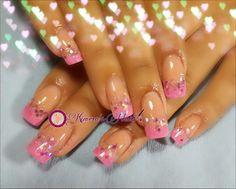 #nails #uñasbellas #uñasacrilicas #acrilycnails #uñas #diseño #kimerasnails #glitter #nude #fashionnails #fashion #sculpturenails #esculturales #sculpture #pink #pinkis #rosa #fresas #lineas #lovers