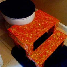 Home made toilet step stool- potty training helper & Perfect Potty Stool - this would also work for potty training ... islam-shia.org