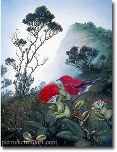 Hawaiian Fine Art For Sale By Patrick Ching Gicle'e's and Matted Prints - Hawaii Artist Patrick Ching