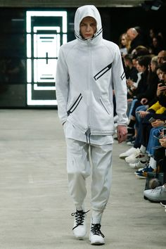For Fall/Winter 2016,Y-3 stripped down to an essential aesthetic of rebellious modernism with a tough, industrial edge. Presented duringParis Fashion Week at the raw, intimate, underground space Entrepote Eiffel, the collection hearkened to two stylistic markers... »