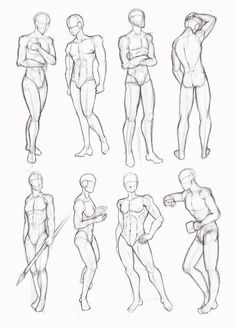 Copy's and Studies: Kate-FoX male body's part 4 by WonderingMind23 on DeviantArt