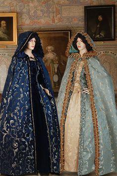 Renacimiento medieval capa de cabo largo traje por YourDressmaker