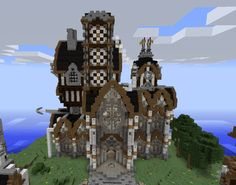 Victorian Castle - GrabCraft - Your number one source for MineCraft buildings, blueprints, tips, ideas, floorplans!