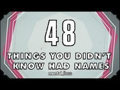 Community: 48 Things You Didn't Know Had Names