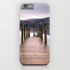 Lake View with Wooden Pier iPhone Case by staypositivedesign Lake View, Ipod, Iphone Cases, Cool Stuff, Ipods, I Phone Cases, Iphone Case