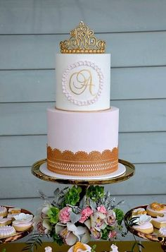 I had the pleasure of creating this two tiered... - Couture Cakehouse Melbourne