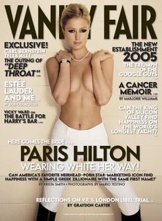 Paris Hilton, Vanity Fair