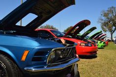 The weekend of February 25-28, 2016 saw the 19th Annual Mustangs & Mustangs: Legends Havin' Fun car show at the Sun N Fun Lakeland Linder Airport.