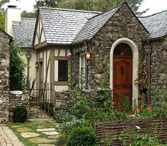 I could live in a little cottage and be so at peace