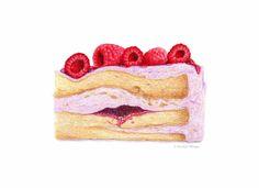 Kendyll Hillegas : Raspberry Cake