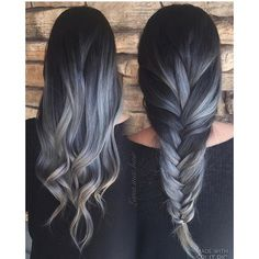 16 Smoking-Hot Photos of Gray Ombré Hair That Will Make You Want to Dye Yours Right Now