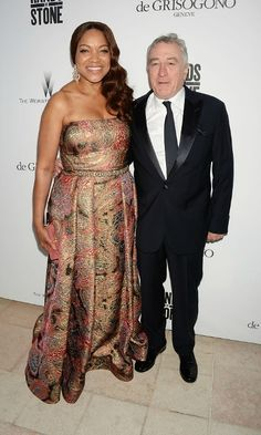 Robert De Niro and his wife Grace Hightower hit up the Weinstein Company's HANDS OF STONE Cocktail Party presented by de Grisogono at JW Marriott Terrasse by Albane in Cannes.