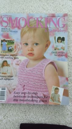 Australian Smocking Embroidery - Issue 69