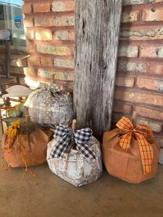 Cute Halloween, Halloween Crafts, Halloween Decorations, Fall Decorations, Thanksgiving Crafts, Fall Crafts, Diy Crafts, Country Fall Decor, Paper Bag Crafts