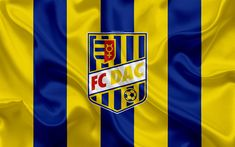 Download wallpapers FC DAC 1904, Dunajska Streda FC, 4k, silk texture, Slovak football club, logo, green white flag, Fortuna liga, Dunajska Streda, Slovakia, football Sports Wallpapers, Russia, Flags, Coat Of Arms