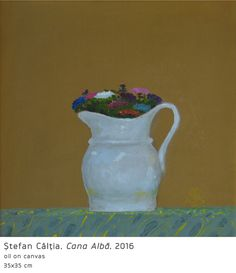#33 Cana Alba Painting Still Life, Art Pictures, Oil On Canvas, Modern Art, Artist, Perception, Art Images, Artists, Contemporary Art