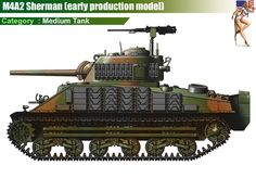 M4A2 Sherman (early production model)