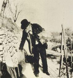 Paul Cezanne, 1906, Photograph by Ker-Xavier Roussel.