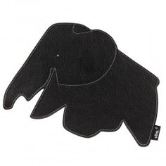 This Elephant Mouse Mat from Vitra was designed by Hella Jongerius. Inspired by the Eames Elephant this lovely leather mouse mat is made from two layers of the best leather which is used in Vitra sofas.