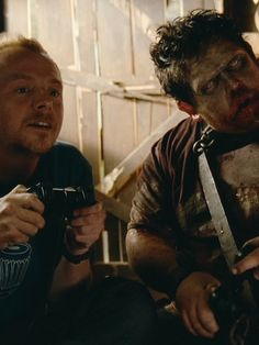 Simon Pegg, Nick Frost - Shaun of the Dead