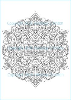 Coloring Page adult MANDALA (zendala), zentangle pattern, printable art original, PDF, tangle inspired_ETSY_3,50 US$_Viktoriya Crichton  mandala circle, zentangle coloring, pdf coloring page, coloring for kids, coloring pattern, adult coloring book, zentangle inspired, zendala, intricate patterns, Adult Colouring Page, Drawing illustration, mandala inspired