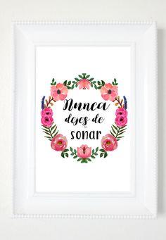 Spanish Printable Quote, Printable Wall Art, Spanish Home Decor, Spanish Printables, Spanish Wall Art, Spanish Quotes by PeonyPrintableDesign on Etsy https://www.etsy.com/listing/488497399/spanish-printable-quote-printable-wall