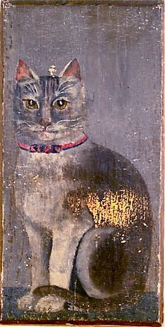 Very old cat portrait - Someone loved her, so beautiful!