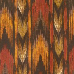 Bargello Pattern Textile Flannel Fabric Print  by MalibuQuiltworks, $7.95