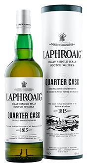 Laphroaig Single Malt Whisky - Quarter Cask          _ Description from Laphroiag.com