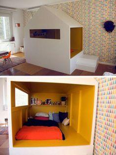 mommo design: HOUSES - handmade cabin bed