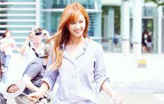 Kwon Yuri, Snsd, Girls Generation, Button Downs, Tops, Women, Fashion, Moda, Fashion Styles