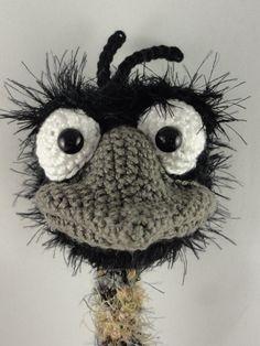 Amigurumi Crochet Pattern Emma the Emu by IlDikko on Etsy