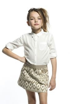 Falda! 100% algodón!  Dos estampados diferentes!  Encuéntrala en www.sunestkids.com Ahora en rebajas!
